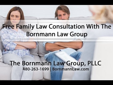 Free Family Law Consultation With The Bornmann Law Group