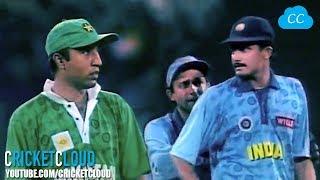 Saeed Anwar 3 SIXES OF 3 BALLS !! Ind vs Pak !!
