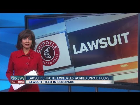 Lawsuit: Chipotle employees worked unpaid hours