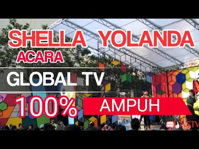 """shella yolanda.Global TV 100% AMPUH"
