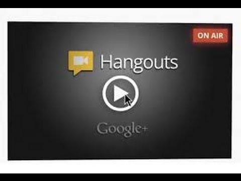 Using Google Hangout LIVE to Host Webinar