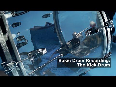 Basic Drum Miking: The Kick Drum