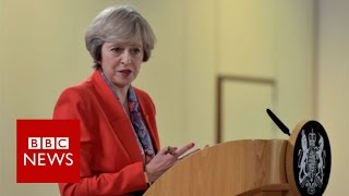 Theresa May expects full EU role until Brexit - BBC News