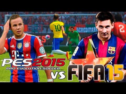 FIFA 15 vs PES 2015 | Gameplay + Info