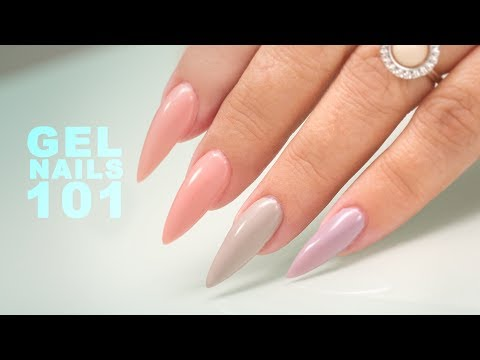 Sculpting Gel Nails - Step by Step Tutorial
