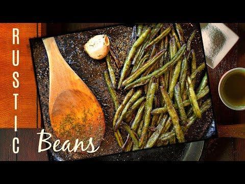 Simple Sautéed Green Beans Recipe - Cast Iron Pan Recipe With Frozen Green Beans