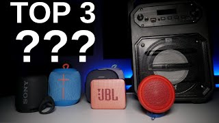 Mi Top 3 de Bocinas Bluetooth en el 2019!