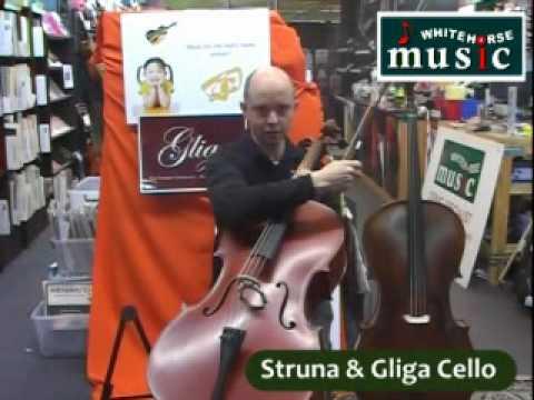 Which Cello to buy in the $4000 range? Master Struna Cello Vs. Gliga I Cello Review