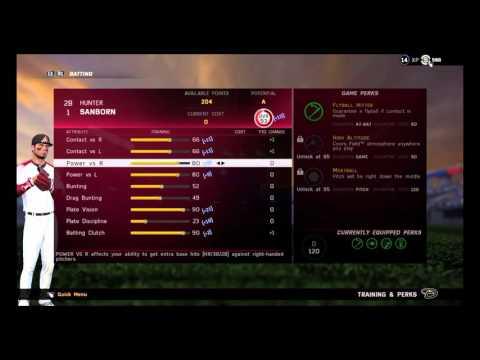 MLB THE SHOW 16 RTTS/How To Hit Homeruns