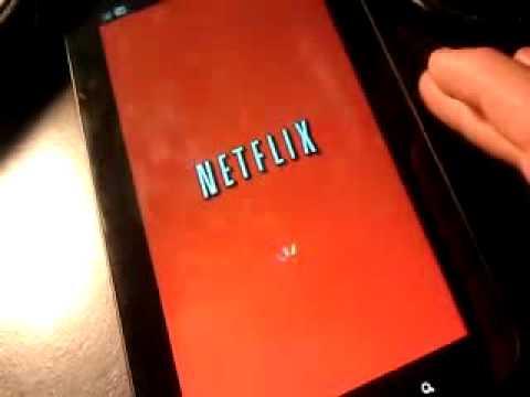 Samsung Galaxy Tab(sprint) Netflix app working after update.