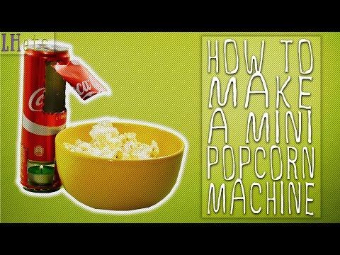 How to Make a Mini Popcorn Machine