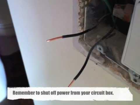 Light Switch Replacement - Bathroom Fan