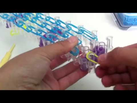 How To Make An Elsa Loom Band Figure Part 2 Of 6