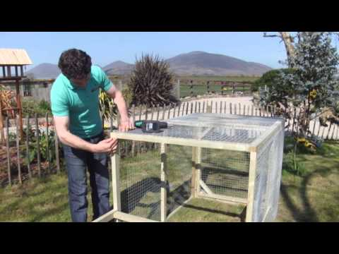 How to make the Chicken Run- by Willowtree Cottage Timber Products