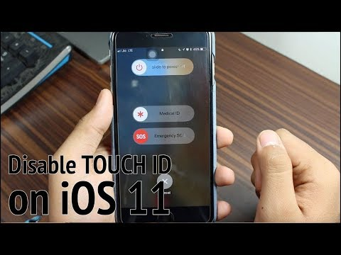 Quickly Disable Touch ID on iPhone Running iOS 11 - How to?
