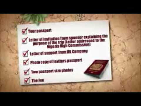 Nigeria Visa - First Visa