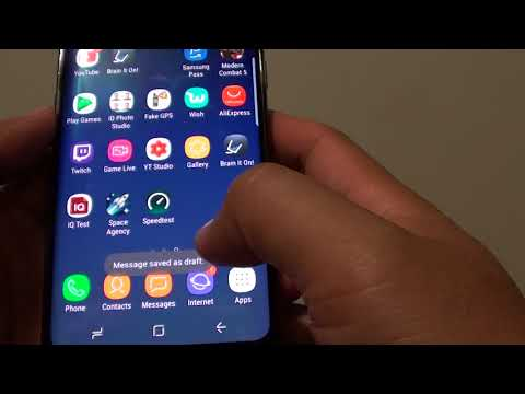 Samsung Galaxy S8: How to Send an SMS Message to a Group