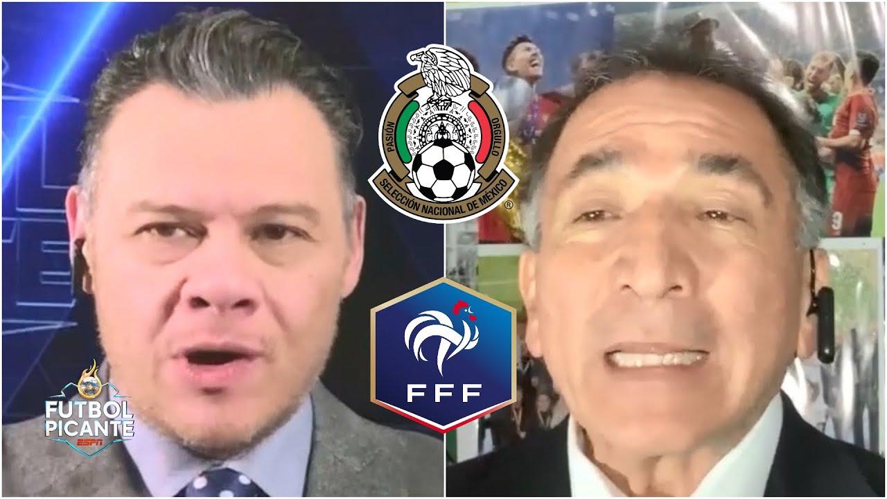 MÉXICO VS FRANCIA Mario Carrillo y Estrada SE CALENTARON previo al debut olímpico | Futbol Picante