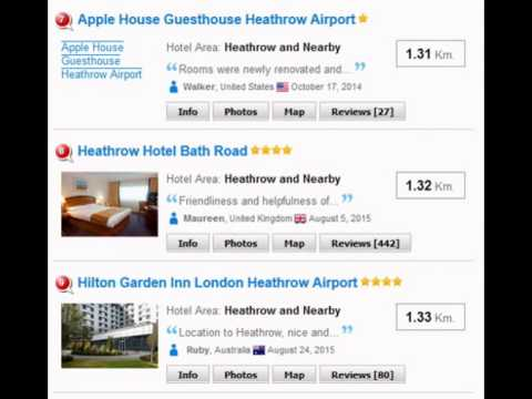 London hotels near heathrow express train