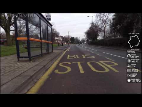 Number11C Bus Route - Birmingham UK