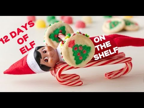 12 DAYS OF ELF ON THE SHELF Pillsbury Disney Funny Naughty Elves Christmas Holiday Baking Cookies