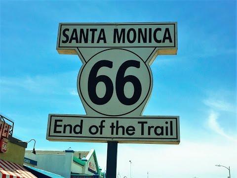 Las Vegas to Los Angeles Part 6 USA Road trip Hollywood GoPro 4K