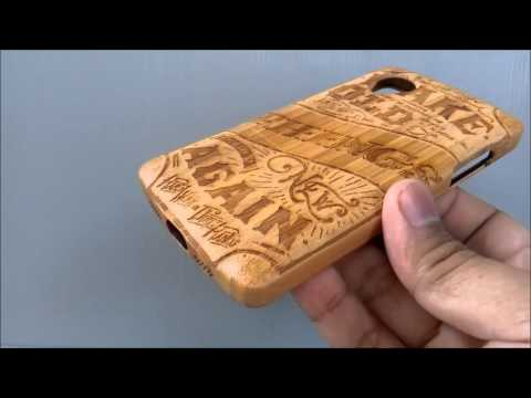Kayukoya Close Up - Retro Design - Full Engraved on LG Nexus 5