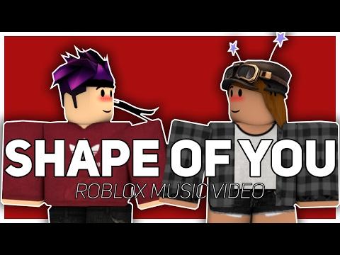 Shape Of You | Ed Sheeran | Roblox Music Video
