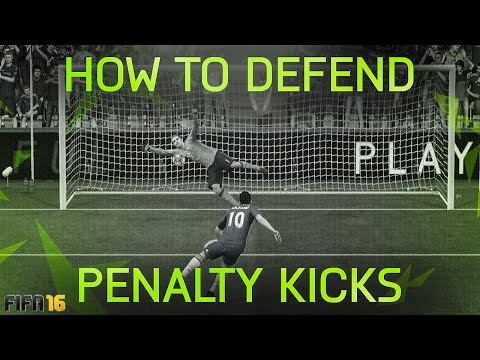 FIFA 16 HOW TO SAVE ALL PENALTY KICKS TUTORIAL / HOW TO DEFEND PENALTIES (PKs) - TIPS & TRICKS