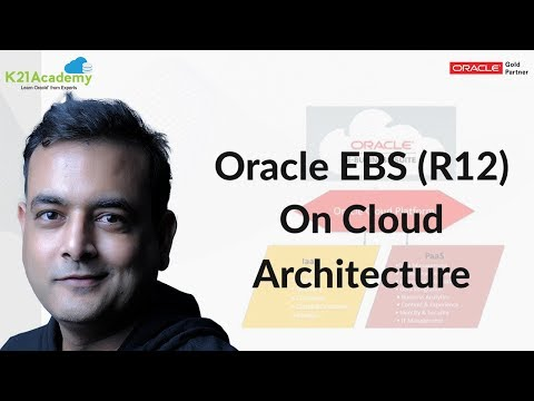 Oracle EBS (R12) On Cloud  Deployment Architecture