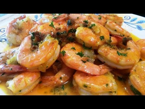 Easy Garlic Buttered Shrimp