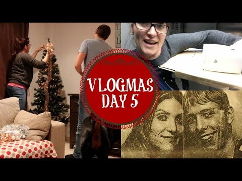 VLOGMAS 2016 | 5th December | Doctors, Colourpop Unboxing & Christmas Tree Shopping