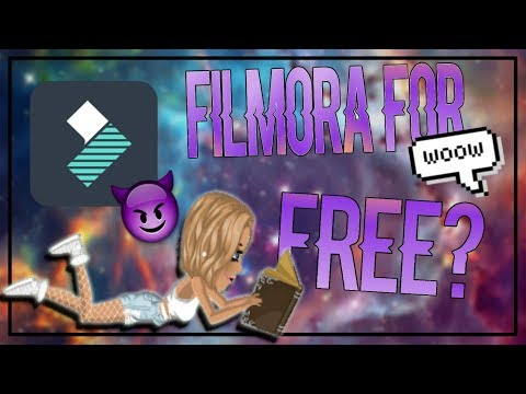 How to get Wondershare Filmora for free!