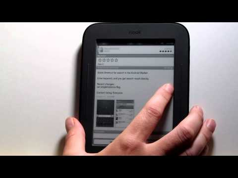 Rooted Nook Touch Tutorial: Fixing Market Search and Other Tips and Tricks