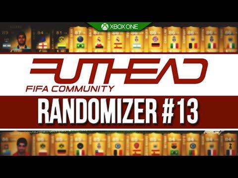 THE FUTHEAD RANDOMIZER #13 - THE HYBRID! FIFA 14 ULTIMATE TEAM!