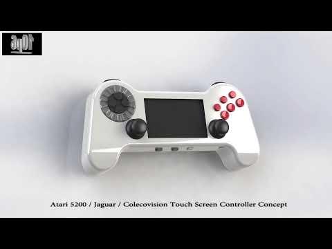Atari 5200 / Jaguar / Colecovision LCD Controller - WIP