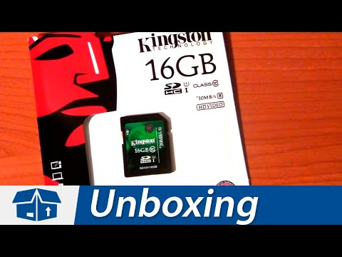 Kingston 16GB SDHC - Class 10 | UHS-1 | Unboxing | Amazon.com