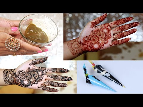 How To Make Henna Paste For Dark Red Stain