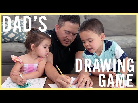 PLAY | Dad's Awesome Drawing Game!