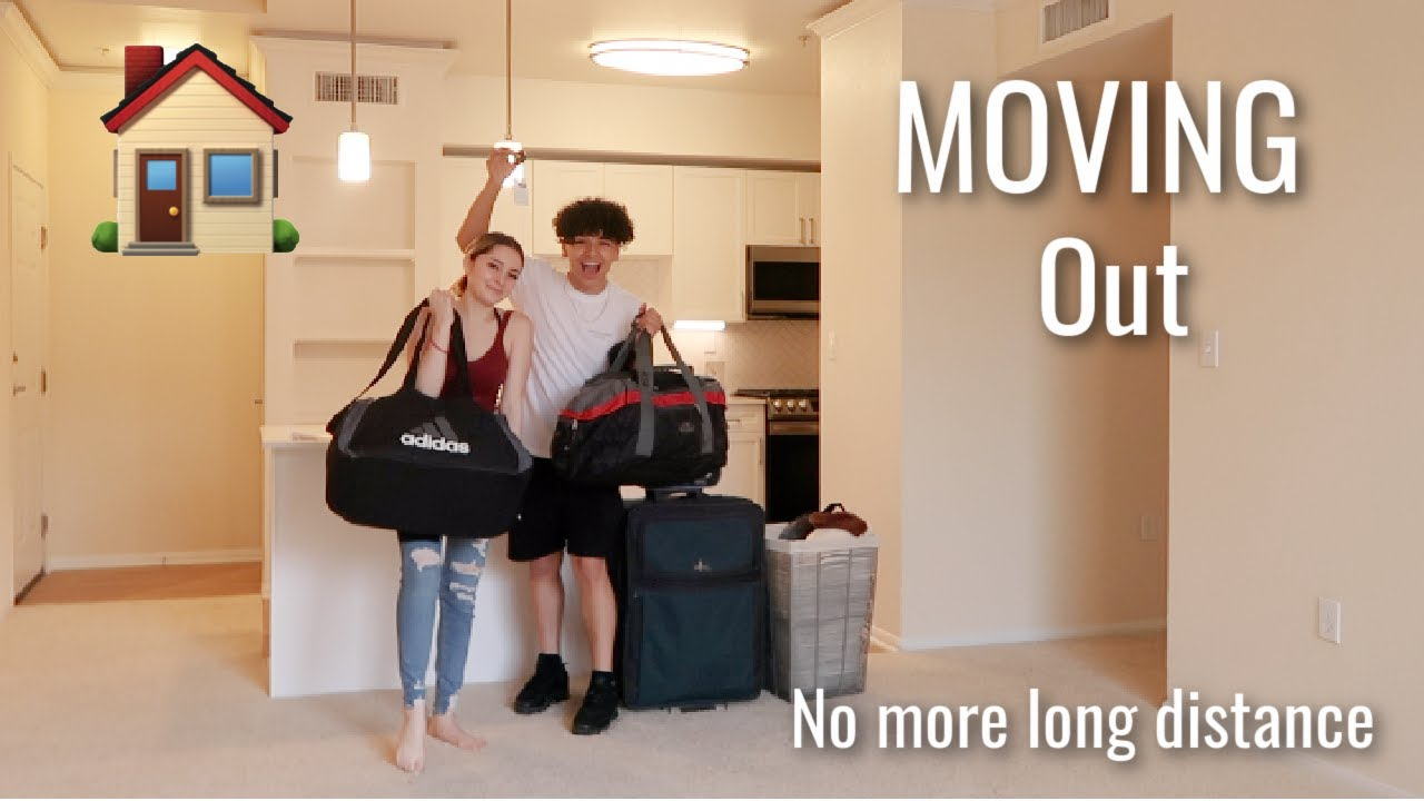 MOVING INTO MY FIRST APARTMENT| Ending our long distance relationship