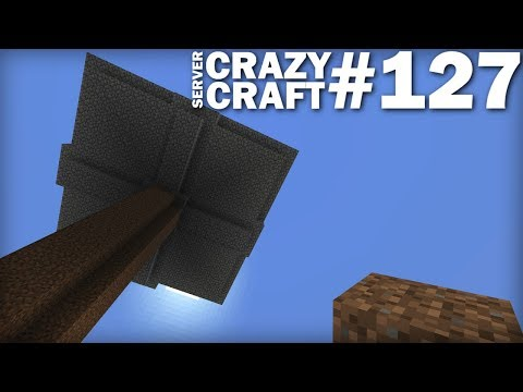 MINECRAFT - QUICK TIME MOB GRINDER - CRAZY CRAFT #127 - Lets Play - Xbox / PS4 /