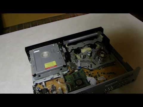 How to you clean a DVD player VCR combo