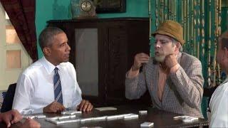 El juego de dominó entre Obama y un comediante cubano