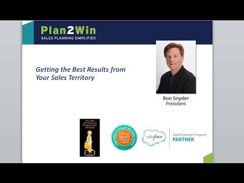 Webinar: Getting Best Results from Sales Territories