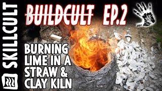 "BuildCult Ep.1, Seashell Lime Burn in ""The Pet"", Primitive Straw Kiln"
