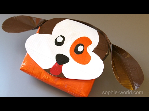 How to Make a Duct Tape Dog Bag | Sophie's World