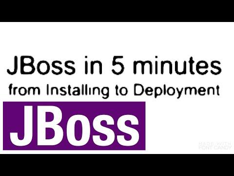 JBoss in 5 minutes (from Installation to Deploy) - Quickstart - by Sven Malvik