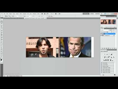 How to combine pictures in Adobe Photoshop CS2*