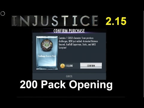 Injustice Mobile 2.15: What's in the Challenge Packs?