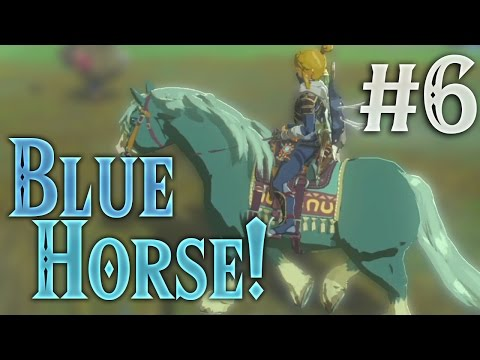 We got a BLUE horse! [Zelda: Breath of the Wild] (#6)